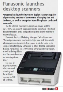 For ease of use, the scanners offer one-touch scanning and the ability to store up to 100 job settings.