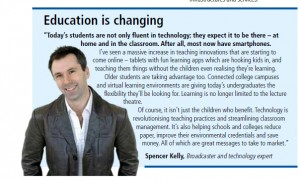 Spencer Kelly, Broadcaster and technology expert