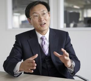 Epson President Minoru Usui