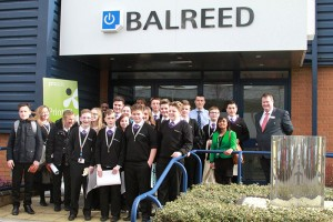 Balreed hosted a group of GCSE students from the Cornwallis Academy