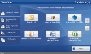Nuance eCopy ShareScan is one of the software solutions distributed by NewField IT.