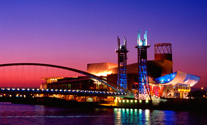 Northern Lights, a two-day event held at The Lowry in Salford Quays, Manchester