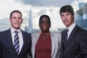 (l to r) Steve Hawkins, managing director, Xeretec; Ursula Burns, Chairman and Chief Executive Officer, Xerox Corporation; and Diego Hervas, President of Xerox's European Channels Group