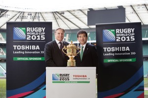 Toshiba has been appointed an Official Sponsor of the Rugby World Cup 2015, being held in England and Wales from September 18 to October 31. This is the third consecutive Rugby World Cup that Toshiba has sponsored.