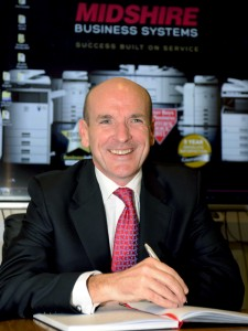 Julian Stafford, Director of Midshire Business Systems Northern