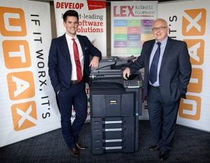 The company, which cites UTAX and Develop as its major print partners, is a true family affair.