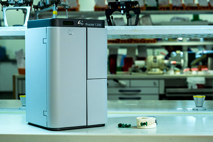 Canon is selling and supporting 3D Systems printers