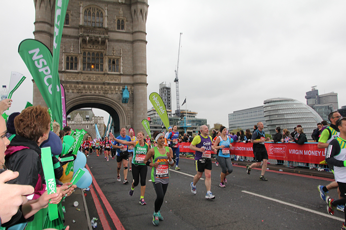DCI/Jet Tec general manager Tammy Studholme recently took part in the Virgin Money London Marathon,