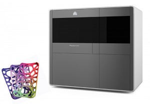 The ProJet 4500 (see photo) is a photorealistic full colour plastic 3D printer