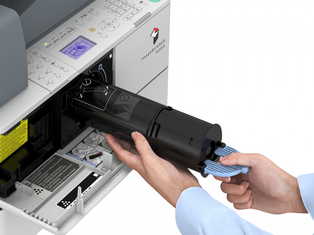 Canon is addressing the B&W printing needs of small but busy workgroups with the launch of the economical imageRUNNER 1435 series of A4 MFPs.