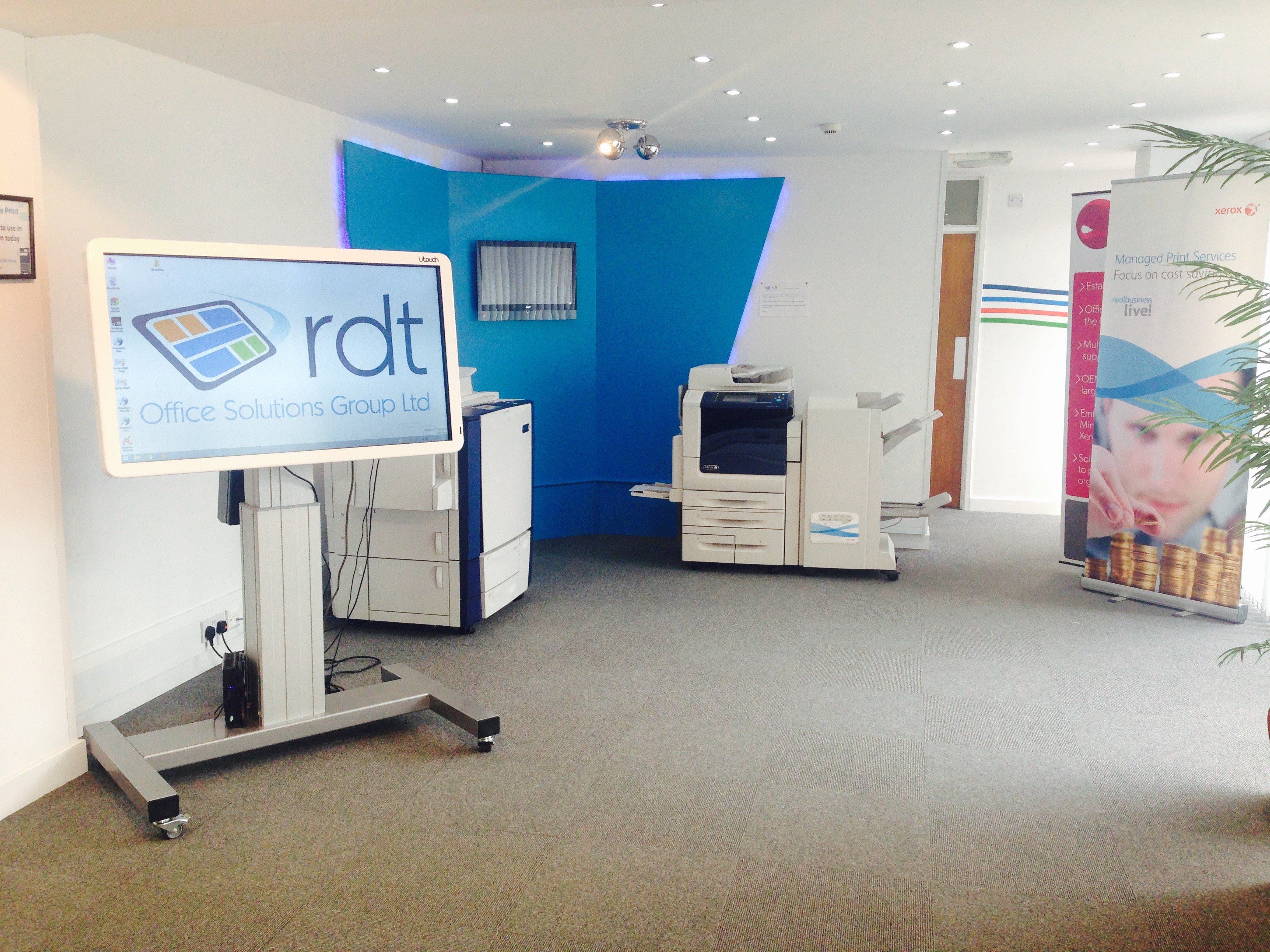 RDT Office Solutions Group was established in 2002 by CEO Derek Russell