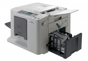 Like other digital duplicators, the CV3030 is an economical option for printing in medium to high volumes.