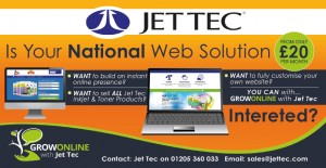 Inkjet and toner cartridge remanufacturer Jet Tec has launched a white label website solution for UK resellers.