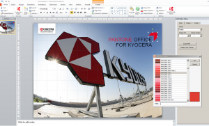 Kyocera Document Solutions has launched an 'add in' for Microsoft PowerPoint and Word