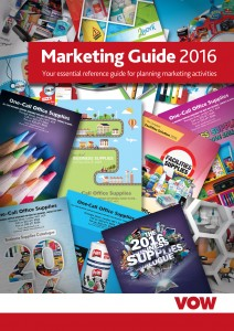 The 2016 guide provides a blueprint for reseller marketing activity across numerous product categories and gives resellers the ability to order everything online via the VOW Publications Manager.