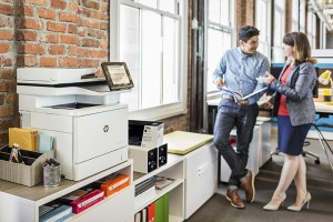The fist printers to include the new security features are the HP LaserJet Enterprise M506 series