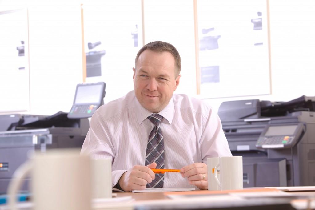 Shaun Wilkinson, Managing Director, UTAX (UK) Ltd