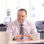 Shaun Wilkinson, Managing Director, UTAX (UK) Ltd