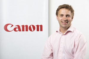 John Marks, UK and Ireland Programme Marketing Manager, Canon