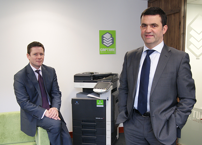 Capture Imaging Directors Colin Yule (left) and Robbie Cheyne (right)
