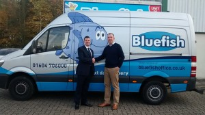 Midlands-based Bluefish Office Products has renewed its commitment to Spicers