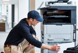 It removes the need for managed print partners to unpack, inspect, configure, test and software-image large printers on their own or their customer's premises
