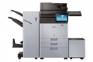 To reduce duplicate or unnecessary printing, users can view all print jobs on the Android-based Smart UX MFP display.
