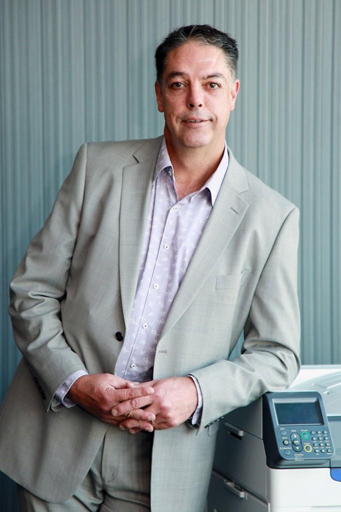 Andrew Hall, Marketing Manager, OKI Systems (UK) Ltd