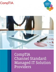 The release of the standard comes at a time of growth in managed services.
