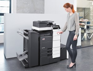 The ineo 758 is a 75ppm mono MFP for highvolume office use.