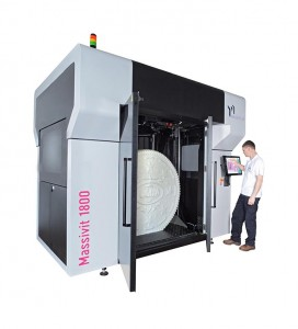 As sole distributor of the Massivit 1800 large format 3D printer and Dimengel 3D printing material, Papergraphics is providing customers with a full service offering, including pre- and post-sales support.
