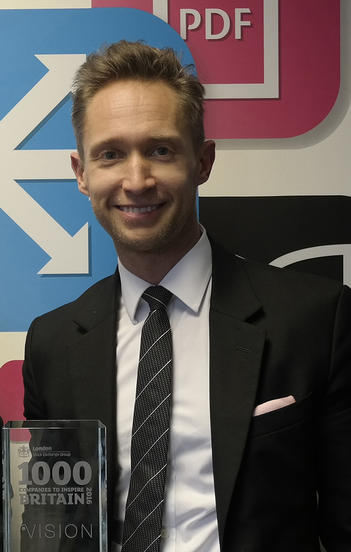 Philip Bond,Managing Director, Vision PLC