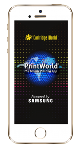 The PrintWorld app, initially available in the US, gives consumers the ability to print and scan from/to a smartphone