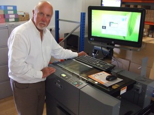 The all-digital operation has been in business since 1994 and today runs four high-powered Konica Minolta digital presses that are printing short run