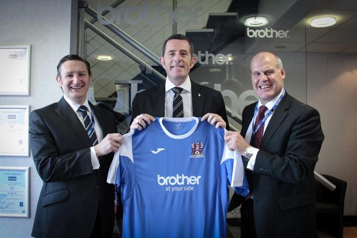 Brother Official sponsor of Stalybridge Celtic Football Club