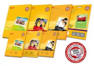 The new range of Kodak photo paper complements the company's inkjet cartridge