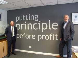 Eleven years ago, fellow directors Mark Brocklehurst and David Griffiths led an MBO of the company that will celebrate its 40th anniversary year in 2017.
