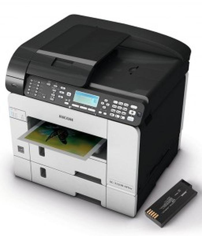 Ricoh SG 3120B battery printer