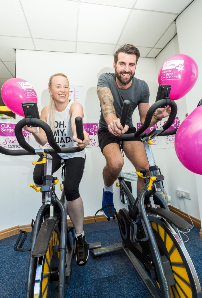 Antalis team cycles in aid of charity
