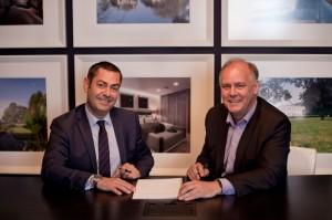 Paul Eccleston, CEO of Nuvias and Jerome Jullien, VP Partners and Alliances, Global Enterprise & Public Sector, Nokia