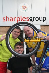 Sharples staff members completed over 300 car-free miles