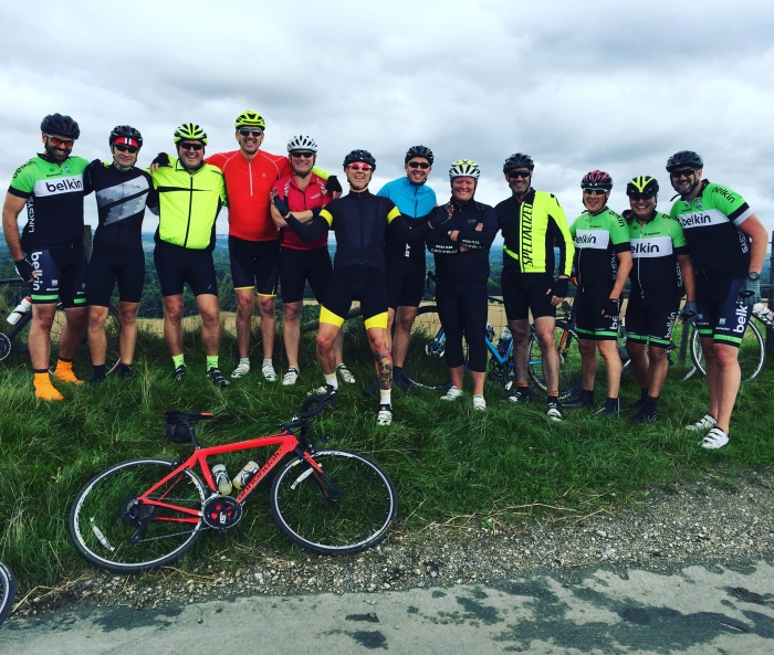 Exertis and supporting vendors cycle to raise £25K for Naomi House