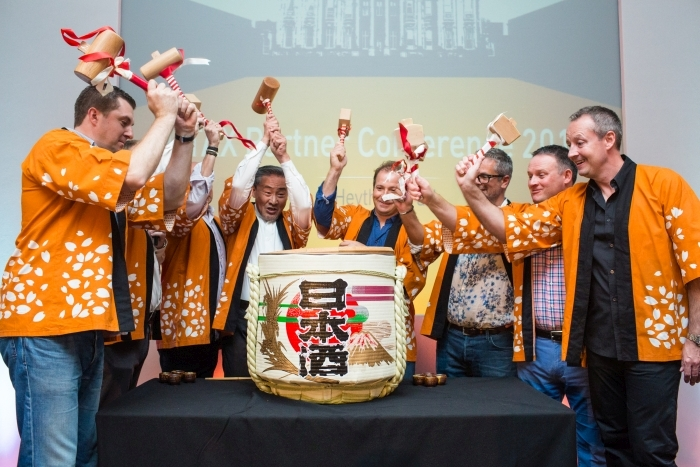 Utax Sake ceremony