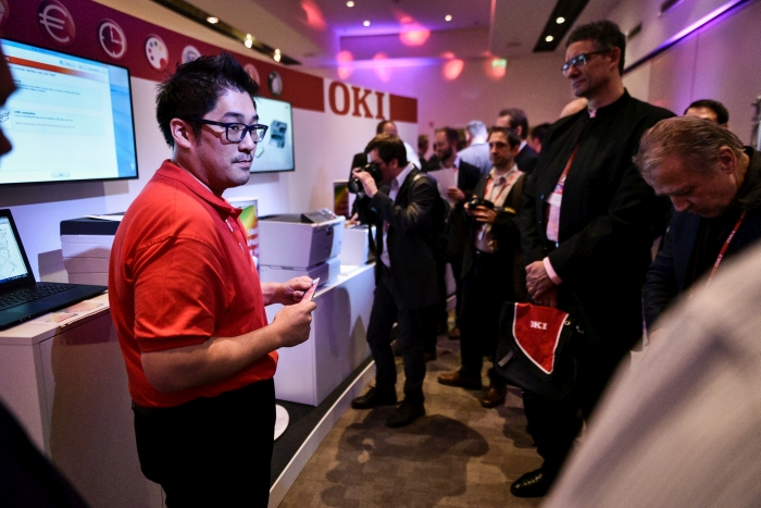 OKI's Smart Colour Solutions launch event