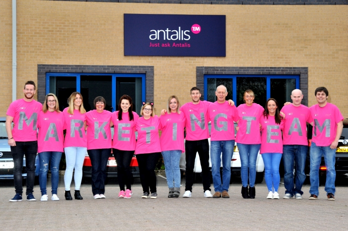 Antalis supports Breast Cancer now