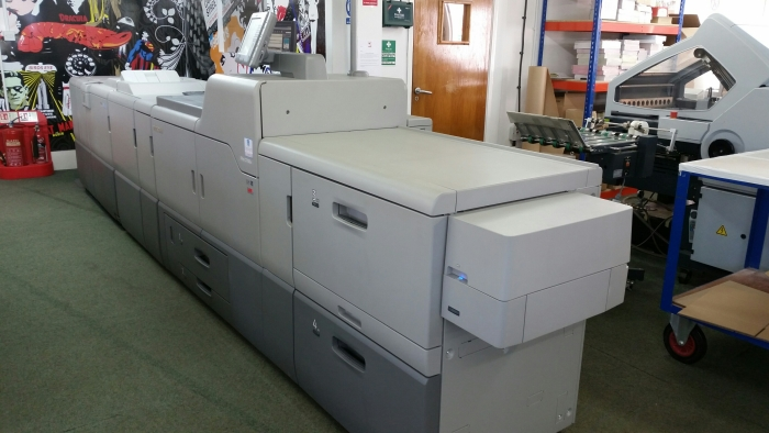 Apogee supplied and installed in-house printing