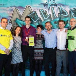 The fundraising team
