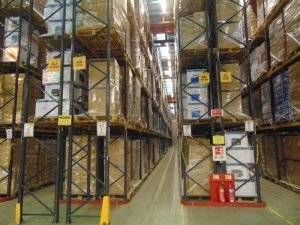 Brother products awaiting dispatch