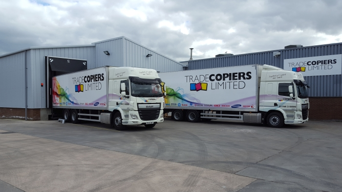 Trade Copier Logistic  vehicles