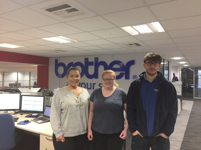 Brother apprentices swaping roles with Brother directors during National Apprenticeship Week